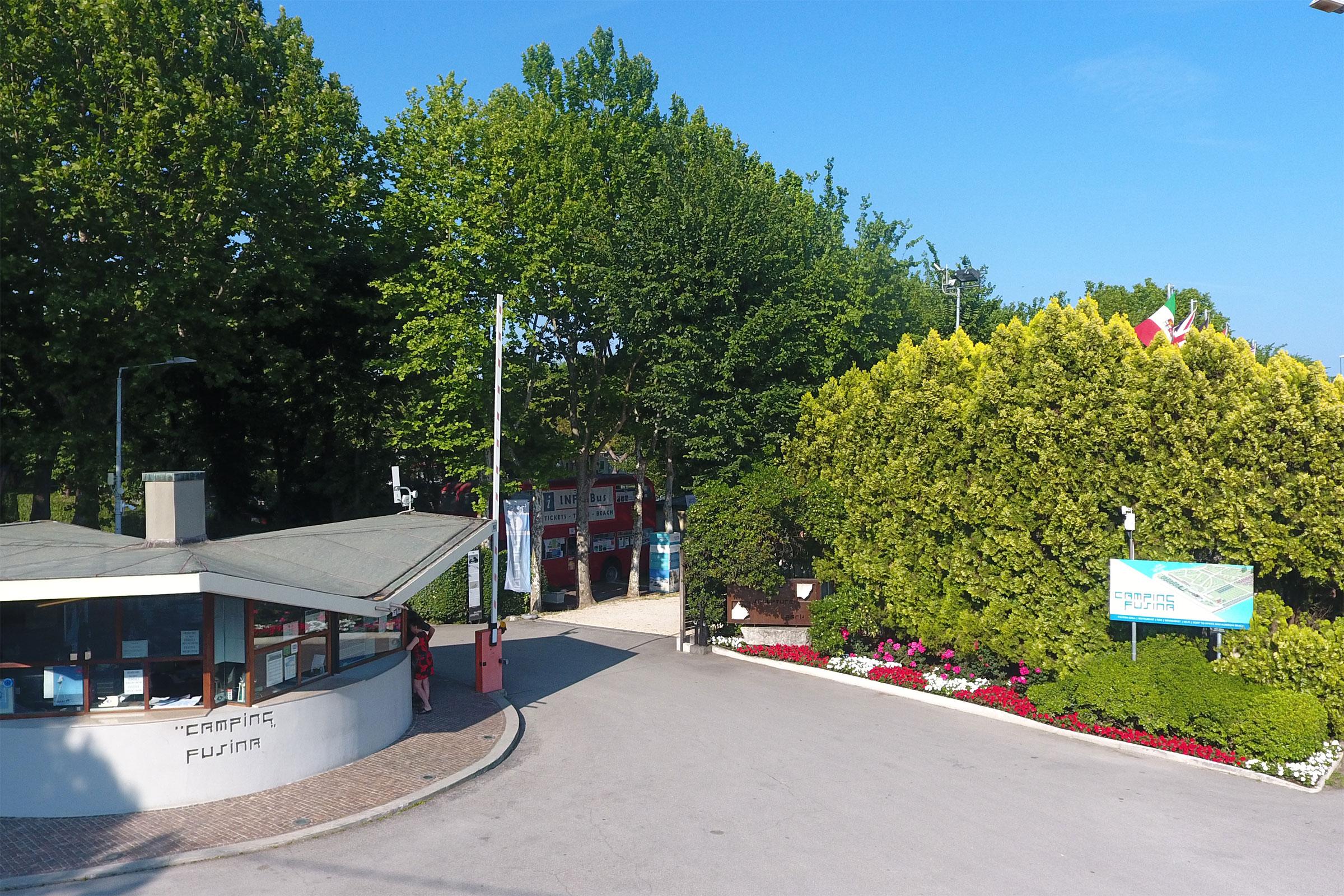 Reception - Camping Fusina