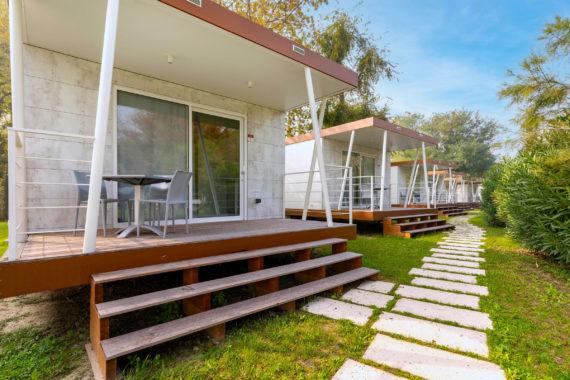 mobile home tamerici design lodge camping fusina venezia