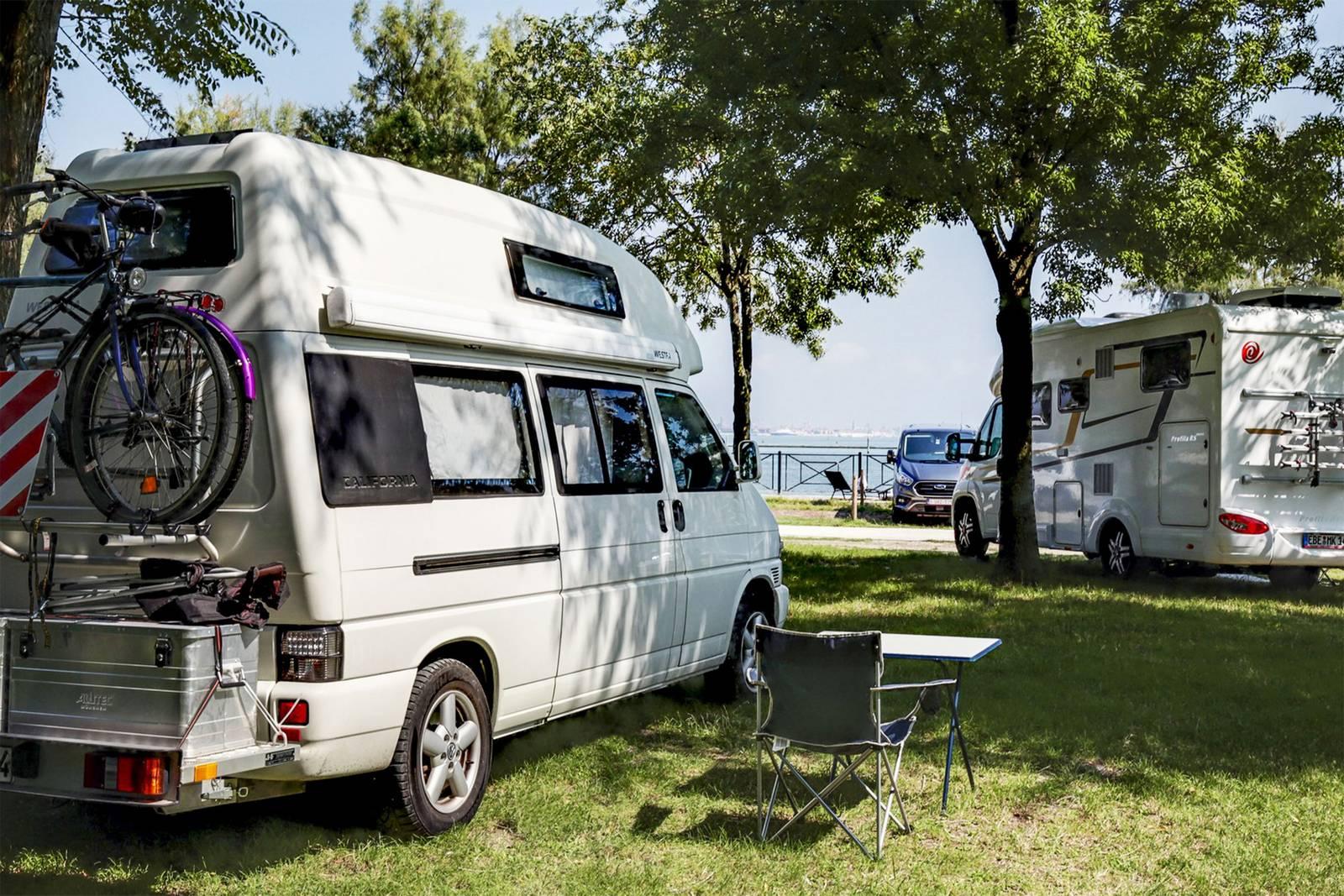 piazzole camping fusina venezia