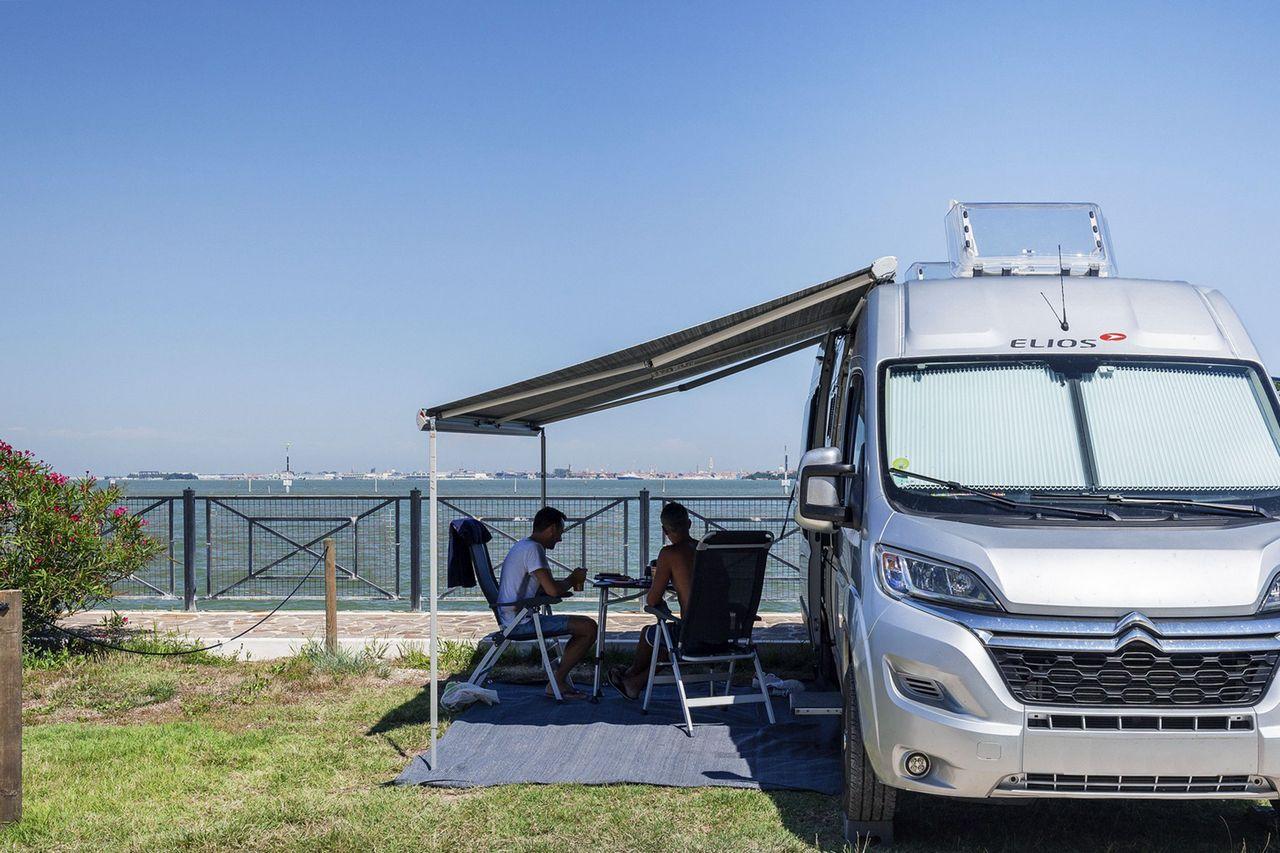 piazzole camper camping fusina venezia