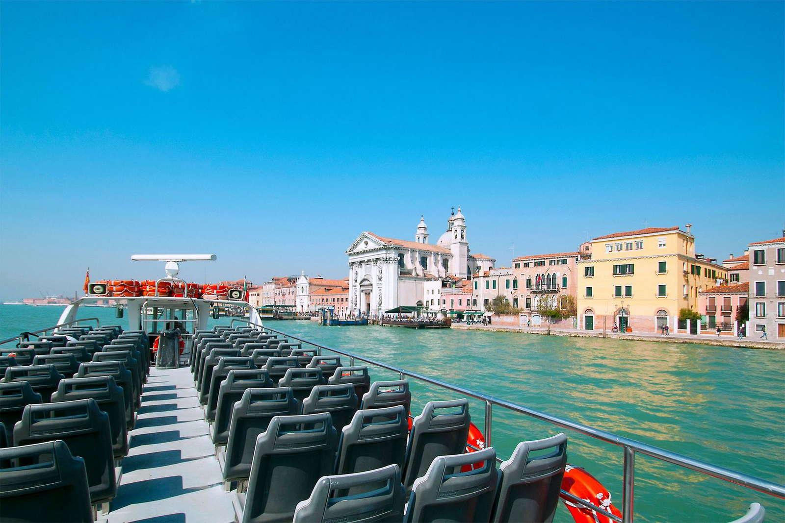 Direkt mit Venedig verbunden