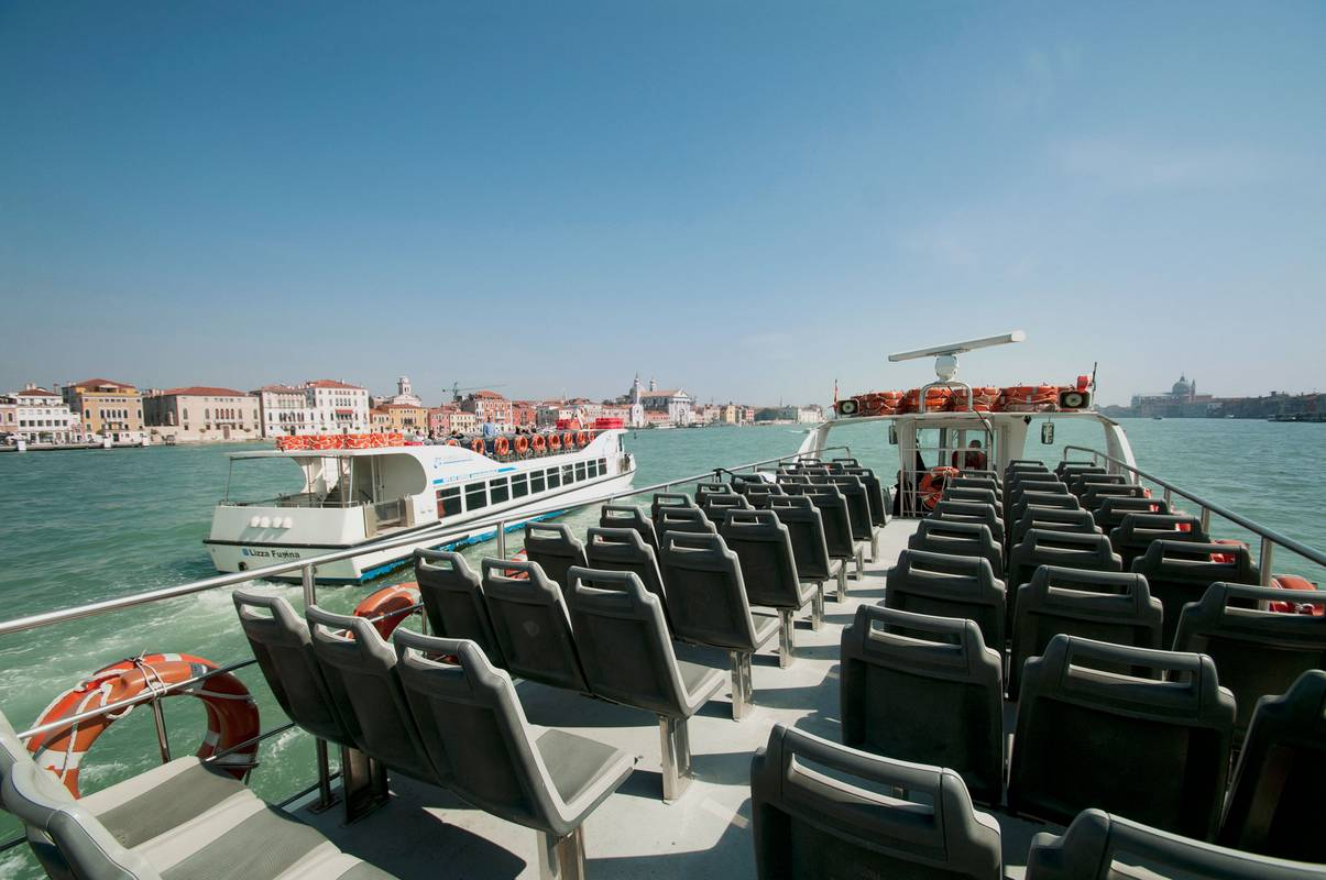 Direkte Bootverbindung nach Venedig