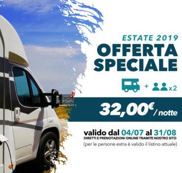 offerta Camper Estate 2019