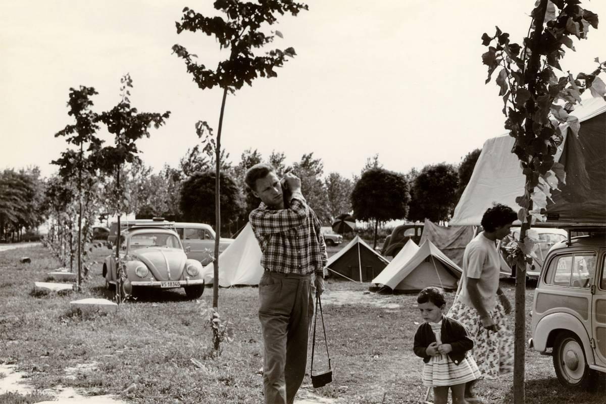Foto d'archivio Camping Fusina