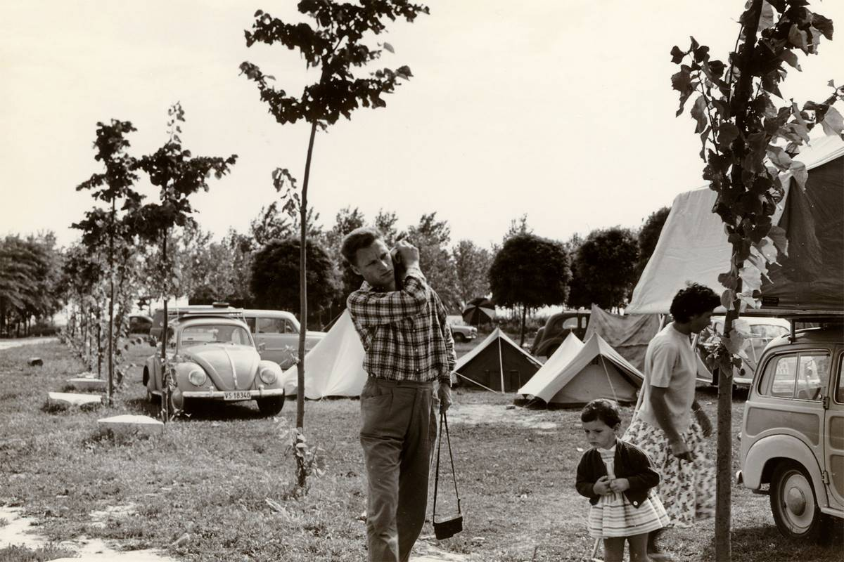 Fotoarchiv Camping Fusina