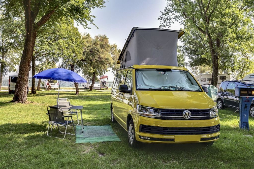 Camper and tent pitches in Venice