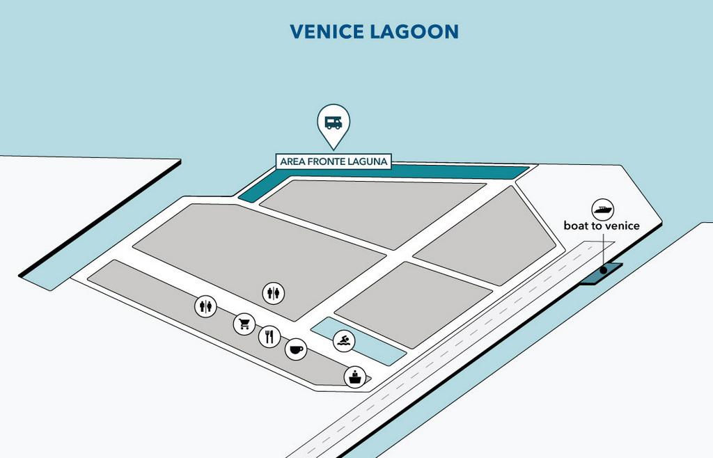 Mappa Fronte Laguna
