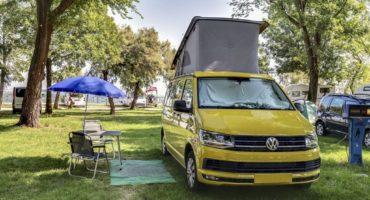 Emplacements pour campeurs et tentes à Venise