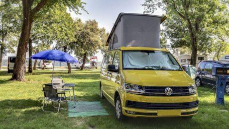 Stellplaetze für Wohnwagen und Zelte in Venedig